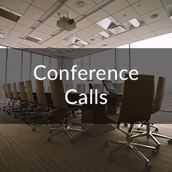 conference calls