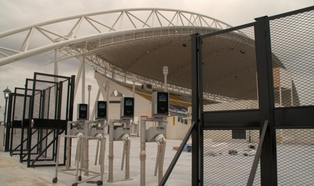 Africa Cup Gabon - Access Control Systems
