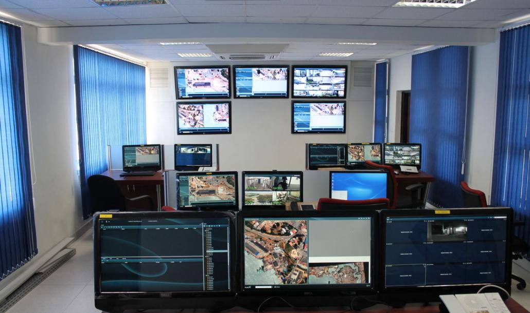 Mombasa Port Fortis 4G in Command and Control Room
