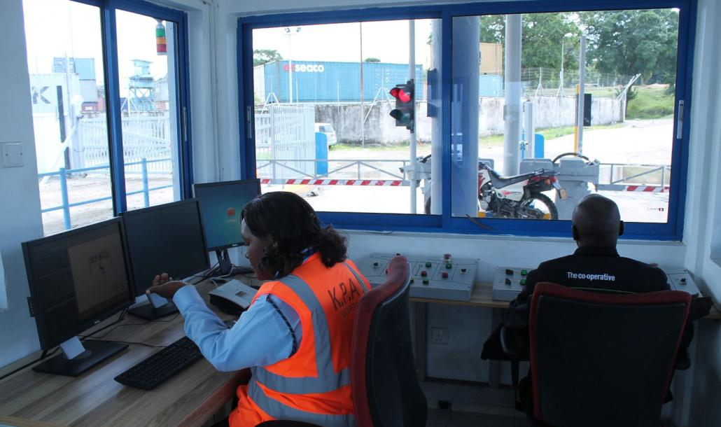Mombasa Port Gate Control Room