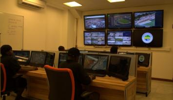 Africa Cup Gabon - Fortis 4G in control room