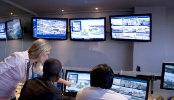 Africa Cup Gabon - Fortis 4G in main command and control room
