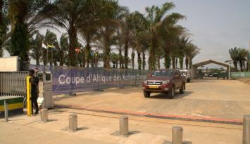Africa Cup Gabon - Gates and Bollard
