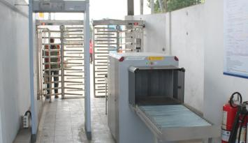 Mombasa Port XRay Screening Machine and Walk Through Metal Detectors
